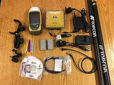 Topcon GRS-1 Field Controller with PG-A1 Antenna