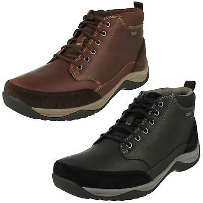 d7b2e58dd83 Mens Clarks Waterproof Lace Up Boots Baystone Top GTX