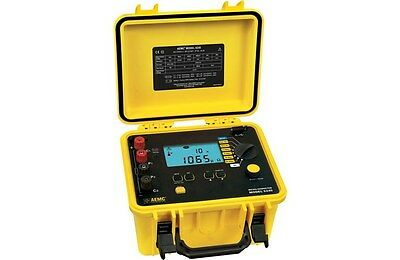 AEMC 6240 (2129.80) 10A Micro-Ohmmeter with DataView Software.