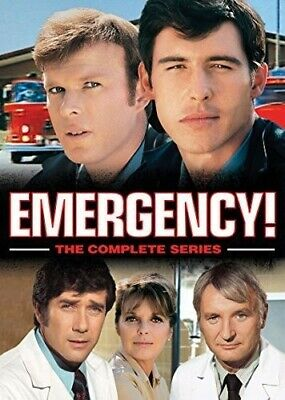 Emergency!: The Complete Series [New DVD] Oversize Item Spilt, Boxed Set, Snap