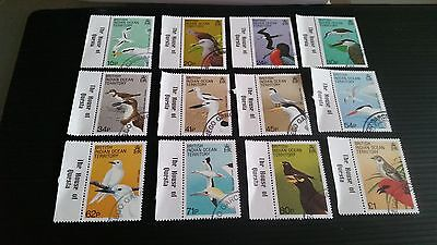 British Indian Ocean Territory 1990 Sg 90-101 Birds.used