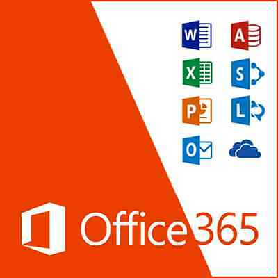 Microsoft Office 365 Home Subscription for 5 Users Windows / Mac or Mobile