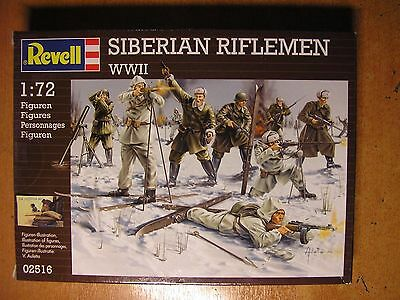 Soldatini toy soldier Revell  Fucilieri Siberiani WWII Ref 02516 Sc.1:72