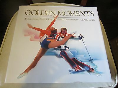 United States 1984 Commemortive Olympic Book