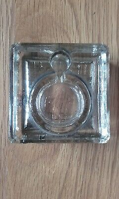 Velos Art Deco Glass Inkwell -  No 1619 - Excellent Condition