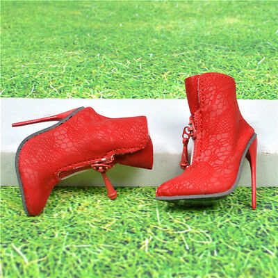 shoes boots for Sybarites superdoll Gen-x & sybarites V3 v1 doll red stripe