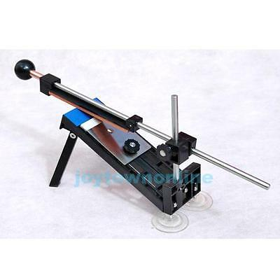 Professional Kitchen Sharpening Tool Knife Sharpener System Fix-angle + 4 Stones