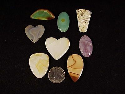 "~RW~ EXQUISITE/CHOICE  ""FREEFORM CABOCHONS"" ~~ VARIETY of AGATE/JASPER"