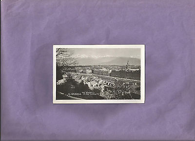 General View of Grenoble and Alps France Marf Postcard