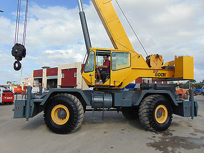 "2007 Grove Rt-600E Rough Terrain ""50 Ton"" 105 Ft - Clean - Serviced - Inspected"