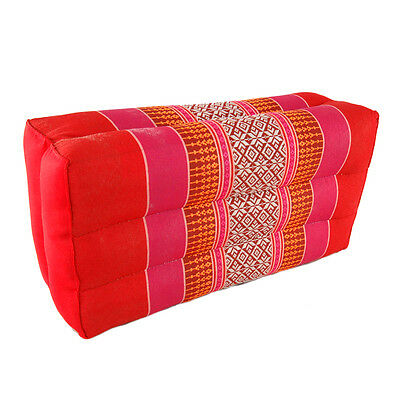 Small Yoga Cushion Red/Pink (04)