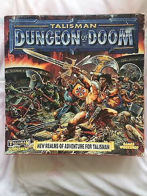 Talisman Dungeon of Doom 3rd edition COMPLETE expansion games workshop fantasy
