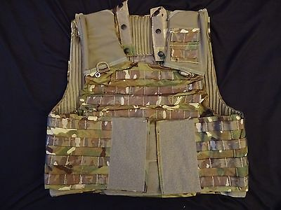 British Army OSPREY MK4 MTP Body Armour Cover / Molle Vest 170/100 - Grade 1