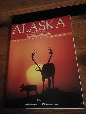 1984 vintage Alaska Princess Tours magazine