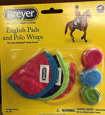 Breyer Model Horse Accessories English Pads and Polo Wraps