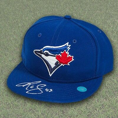 R.A. Dickey Toronto Blue Jays Autographed Official On Field Baseball Cap