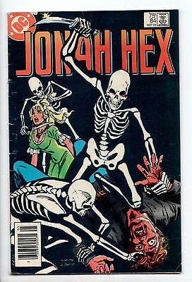Jonah Hex #84 - Carnival of Doom! (DC, 1984) - VG