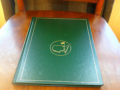 2003 masters golf book Published by Augusta National Golf Club
