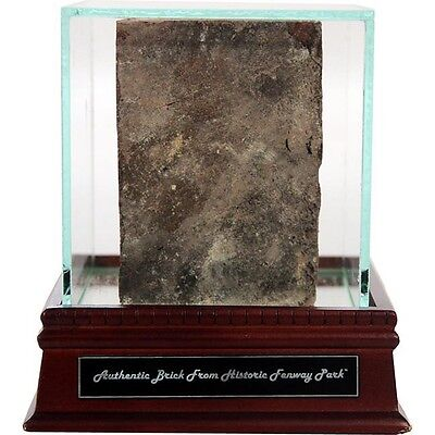 Boston Red Sox Fenway Park Authentic Brick with Glass Display Case: Steiner COA
