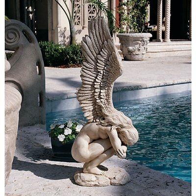 Statues of Angels Guardian Angel Wings Sculpture Statuary Religious Gifts Decor