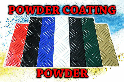 Powder Coating Powder BS 4800 Colours 0.5kg bag - Ivory, Bitter Chocolate Brown