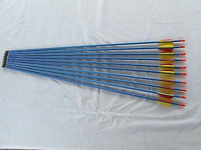 "20x31"" ALUMINIUM ARROWS FOR COMPOUND OR RECURVE BOW TARGET ARCHERY"