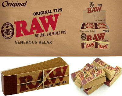 Raw TIPS Lot de 1/3/5/8/10/15/20 Carnets x 150/500/1000 Filtres en Carton (Tip)