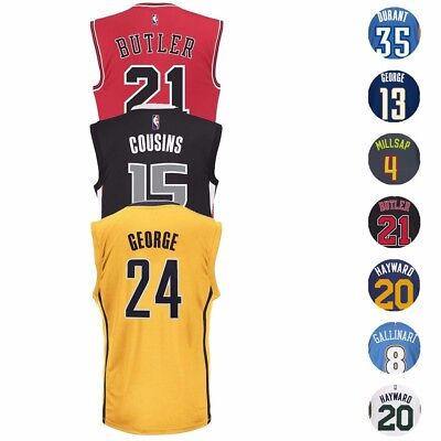 best sneakers 550bf f89c8 NBA ADIDAS OFFICIAL Team Player Replica Jersey Collection - Men's