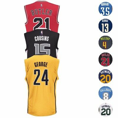 NBA Adidas Official Team Players Replica Jersey Collection - Men's