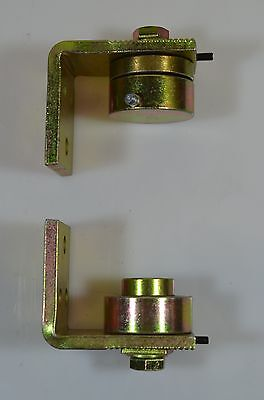 Heavy Duty Ball Bearing Hinges for gates up to 400kg Passive yellow zinc
