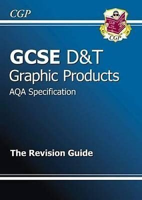 GCSE Design & Technology Graphic Products AQA Revision Guide 9781847623560