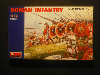 Soldatini toy soldiers MiniArt Roman Infantry Ref 72012 Sc.1:72