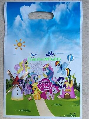 My Little Pony Children Birthday Boys Girls Party Supplies Gift Loot Bags