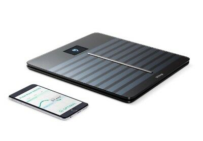 Withings WiFi Body Scales Smart Digital Weight Cardio Heart Health Black
