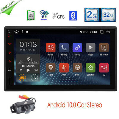 "In-dash Android 7.1 WIFI 7""Double 2DIN Car Radio GPS Stereo no-DVD Player+CAMERA"