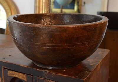 Gorgeous Hand Carved Bowl 19th Century