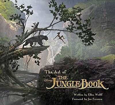 The Art of Disney The Jungle Book Copertina rigida
