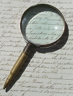 Antique French Magnifying Glass