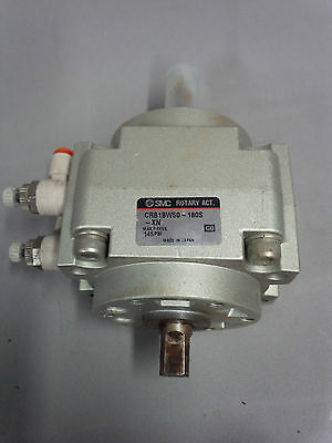 """SMC CRB1BW50-180S-XN rotary actuator """"used"""""""
