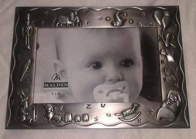 MALDEN 4x6 PICTURE FRAME, BABY THEME, NEW, L@@K!