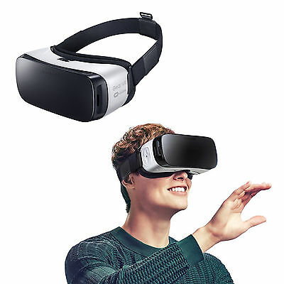 Official Samsung Gear VR Oculus Virtual Reality for Galaxy S6 Edge Plus S6 White
