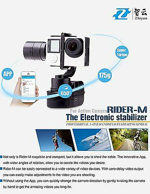 Zhiyun Rider-M Wearable 3 Axis Brussless Gimbal Stablizer for Gopro FR