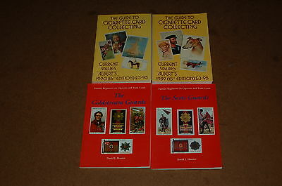 Cigarette Card Collecting Guides Books x4 Coldstream Scotts Guards