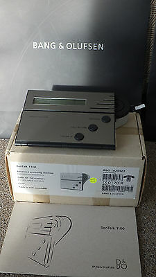 Bang & Olufsen   B&O Beotalk 1100 Answer Machine, Boxed with User Manual      L