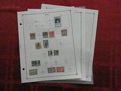 Siam Old Collection 1883-1940 Extra Fine Dr Schultz Estate !!9582S