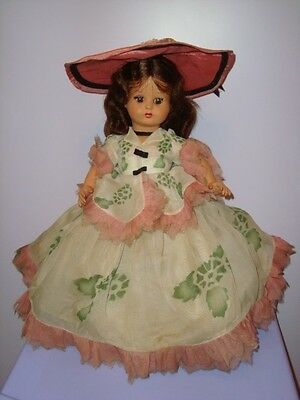 FURGA ANTICA BAMBOLA DAMINA IN BACHELITE ITALY old doll toy poupee muneca puppen