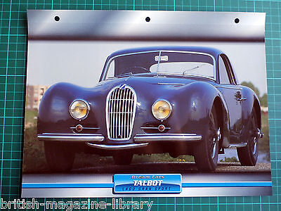 Talbot Lago Gran Sport - Dream Cars Atlas Edition