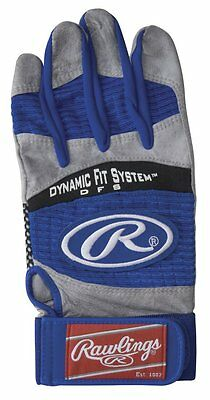 New Rawlings Workhorse 950 Batting Gloves - Royal - Adult