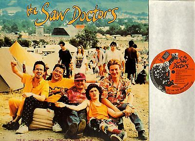 THE SAW DOCTORS all the way from tuam LP EX+/EX 4905 91146-1 solid records 1992