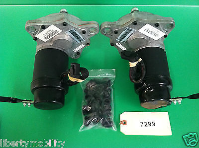 L & R Motors & Gearboxes for Pride Scooter Store TSS 300   #7299